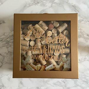 Hallmark cork collector box